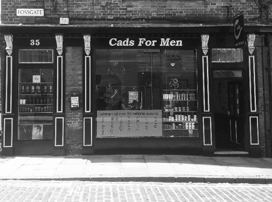 Cads for Men Barbers and Groomers Shop Front
